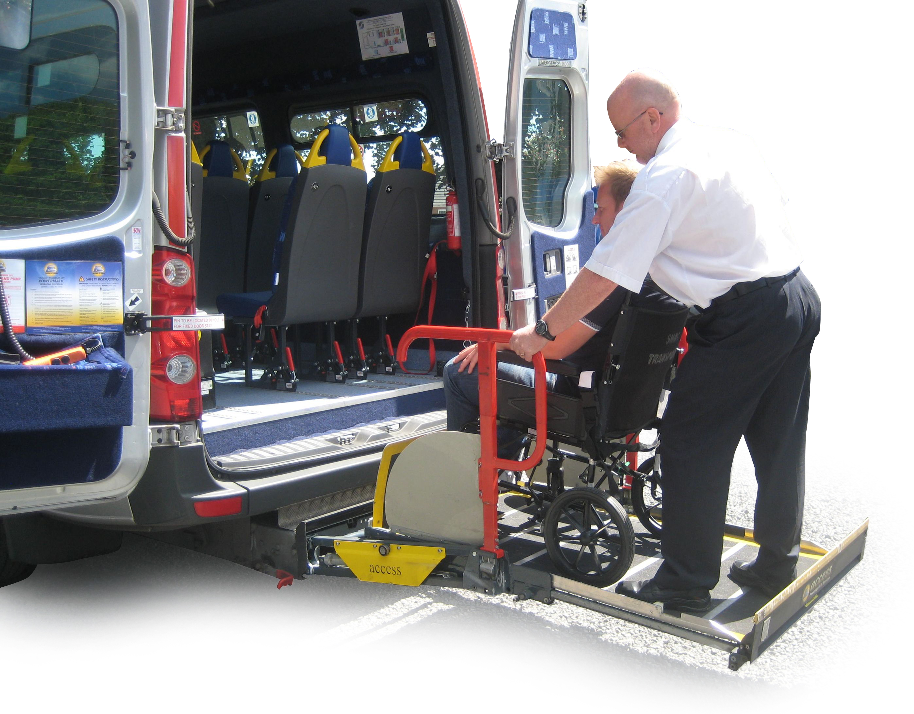 wheelchair lift bus. Interesting Lift Minibus Cassette Lift Intended Wheelchair Bus