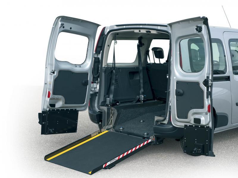 Mercedes Citan / Renault Kangoo WAV Lowered Floor and Ramp