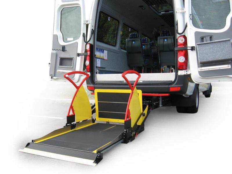 Accessibility Solutions  Mini and Midi-bus lifts