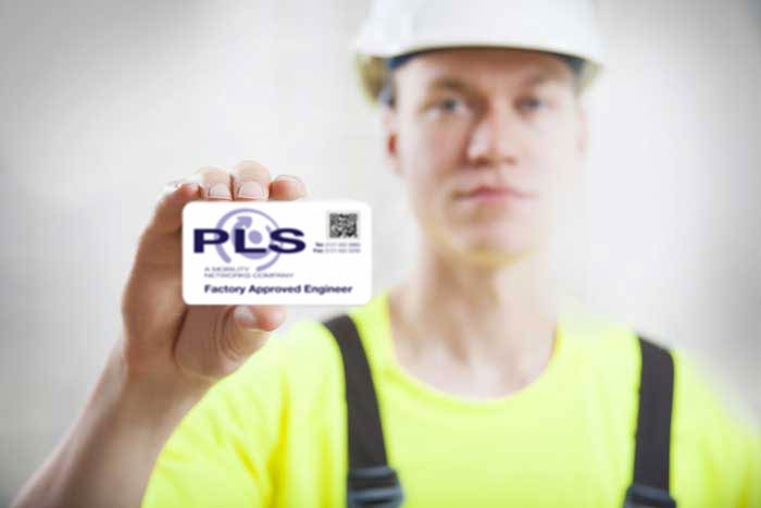 PLS engineer card