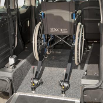 Peugeot Partner WAV Lowered Floor and Ramp