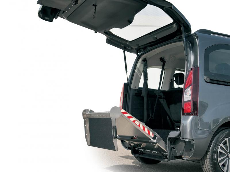 Citroën Berlingo WAV Lowered Floor and Ramp