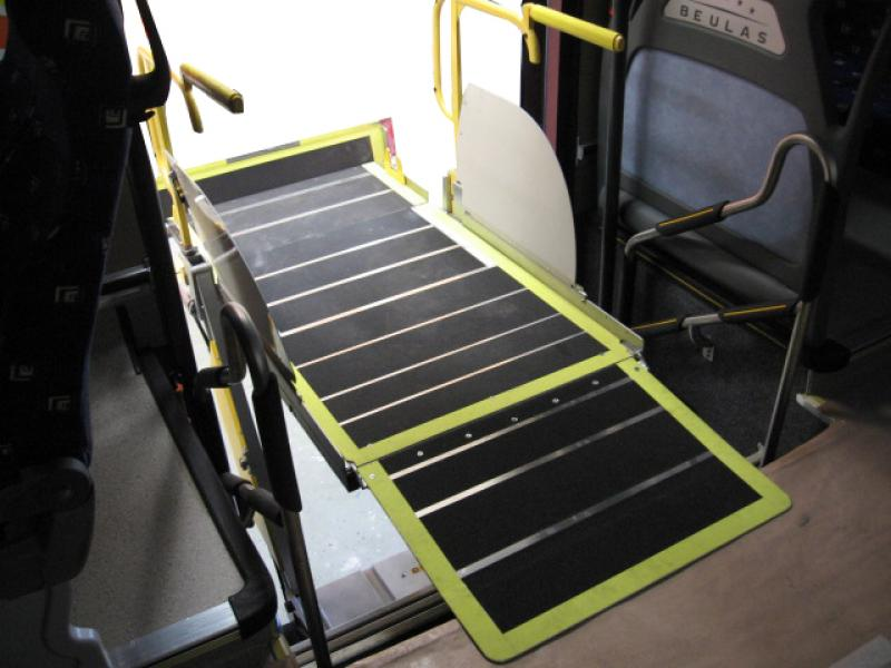 City Bus High Floor Lift