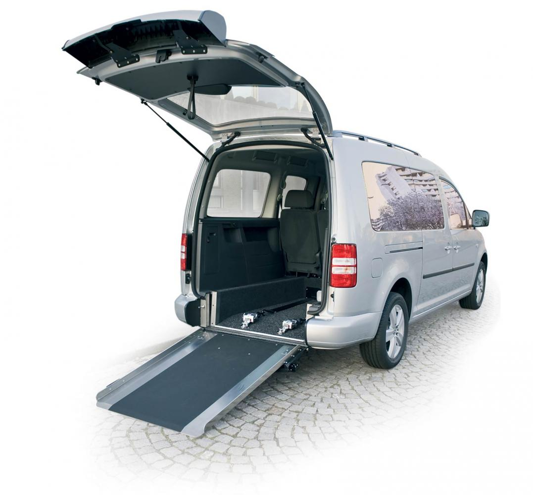 VW Caddy/Caddy Maxi WAV Lowered Floor and Ramp